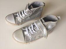 H&M Chucks Schuhe Silber Größe 29 für Mädchen und Jungen