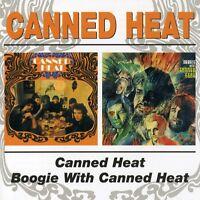 Canned Heat - Canned Heat / Boogie with Canned Heat [New CD]