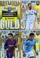 Panini Adrenalyn XL FIFA 365 2020  Set 4 - 4 x Premium Gold Limited Edition
