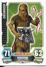 Star Wars Force Attax Series 3 Card #16 Chewbacca