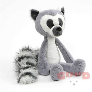 "Baby GUND Toothpick Lemur Plush Stuffed Animal 15"", Gray"