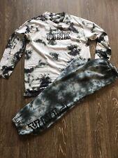 💜 new vs pink tie dye outfit set tee pants