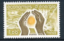 STAMP / TIMBRE FRANCE NEUF  N° 2007 ** ENERGIE/ ECONOMIES D'ENERGIE
