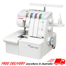 Janome My Lock 744D Overlocker Brand New In Box, Serger, STOCKTAKE SALE