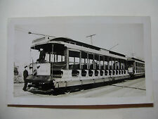 USA875 - The CONNECTICUT Co - TROLLEY CAR No924 PHOTO - at YALE FIELD - USA