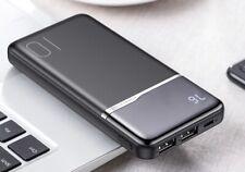 100000 mAh PowerBank mit integriertem Display 4 Anschlüsse, USB-C