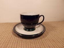 Denby Dinnerware Regatta Pattern Cup & Saucer Set