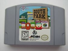 South Park Nintendo 64 N64 Authentic TESTED OEM Original Retro Game Comedy GOOD!