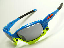 Oakley Racing Jacket Pacific Blue Sonnenbrille Jawbone Straight Fast Radarlock X