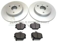 OEM SPEC FRONT AND REAR DISCS PADS FOR SMART FORFOUR 1.1 2004-06