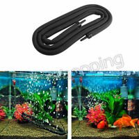 Aquarium Air Bubble Stone Aerator Pump Hydroponic Oxygen Diffuser Tube Fish Tank