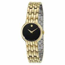 Movado 0606935 Mujer Reloj Automático en Tono Dorado veturi