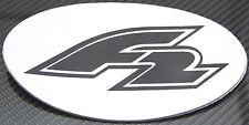 FTWO f2 Anti Scivolo Pad stomp OVALE NEOPRENE SNOWBOARD Raceboard PIASTRE legame