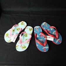 Childrens Cath Kidston Beach Casual Printed FlipFlops Sandals (PAST DESIGNS)
