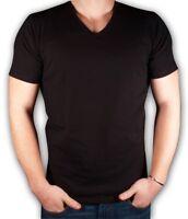 Men's T-shirt Cotton Lycra V-Neck M-2XL TIARA GALIANO 1135 High EU Quality SALE