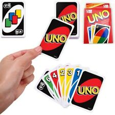 1 Set Mattel UNO card Game with WILD CARDS Latest version Great Family Fun