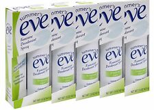 Pack of 5 Summer's Eve! Tropical Rain 1.5 oz Feminine Deodorant Spray!