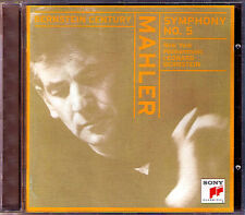 Leonard BERNSTEIN: MAHLER Symphony No.5 New York Philharmoinc 1963 SONY CD