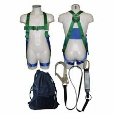 ABTECH SAFETY AB10 SINGLE POINT FULL BODY HARNESS, LANYARD & BAG SCAFFOLDER PACK