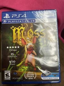 Moss VR Sony PlayStation 4 PS4 PSVR 2018 Sealed NEW