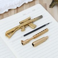 Novelty Gel Pen Gun Shape Ballpoint Pens Office School Supply Stationery Gift