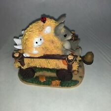 "Charming Tails ""Haunted Hayride"" - 85/883 1999 - Original Box & Packaging"