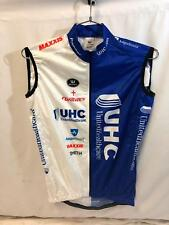 United Healthcare Vermarc Mens Pro Cycling Vest Small Light Road Bike UHC NEW