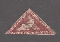 Cape of Good Hope stamp #12, used, triangle, 1863 - 64, SCV $325.00