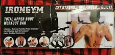 Iron Gym Home Total Upper Body Workout Bar - Pull Ups Sit Ups Push Ups Dips