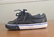 NEXT Boys Navy & White Leather Shoes With Laces Size 6