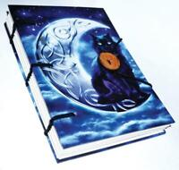 Celtic Moon Black Cat Book of Shadows, Journal!