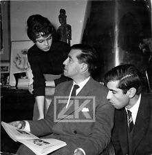 BRIGITTE BARDOT Marc ALLEGRET Roger VADIM Candid Photo 1950s
