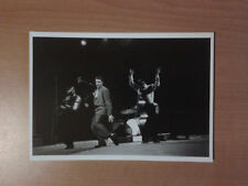 ELVIS PRESLEY AND HIS BAND LIVE TELEVISION PERFORMANCE,MARCH 1956 PHOTO CARD
