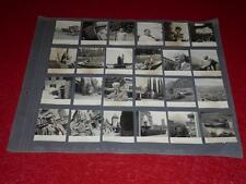 24 PHOTOGRAPHIES ORIGINALES / ITALIE / LOMBARDIE / 1939 Gardone Merano &c.