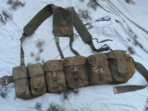2 PARA custom made modified tailored AIRBORNE WEBBING dpm LIGHTWEIGHT TROOPERS