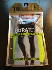 NEW ADIDAS ULTRATECH BASE LAYER LONG PANT SIZE LARGE #KUC440