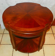 Mid Century Mahogany End Table / Side Table by Lane  (T652)