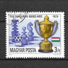 Ungarn 3341 gestempelt Schacholympiade
