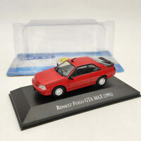 IXO Renault Fuego GTA MAX 1991 Red 1/43 Diecast Toys Car Models Collection