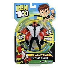 Ben 10 Power Up Four Arms Deluxe Action Figure