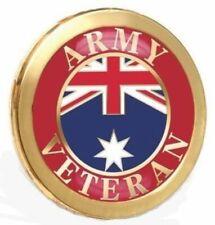 AUSTRALIAN ARMY VETERAN BADGE LAPEL PIN MEDAL RAR SASR COMMANDO FOR ANZAC DAY -1