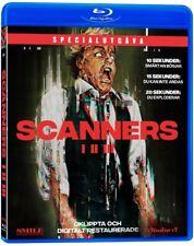 SCANNERS - 1-3 - Blu-Ray - Region 2/B (Europe/UK) - NEW (David Cronenberg)