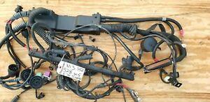 BMW E36 M3 328I M52 ENGINE WIRING Harness S52 6 Cylinder obd2 5 SPEED MANUAL 3.2