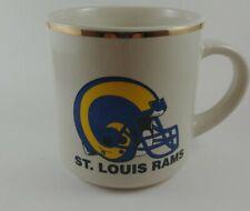St Louis Rams Vintage NFL Football Coffee Mug Pre-owned