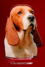 statuette photosculptée 10x15 cm chien d'artois 1 dog hund perro cane