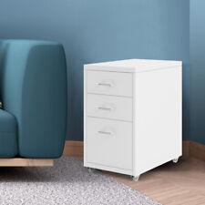 Metal Cabinet Storage Cabinets Folders Steel Study Office Organiser 3 Drawers