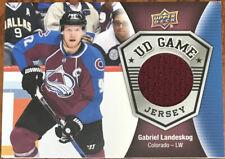 2016-17 Upper Deck UD Game Jersey Gabriel Landeskog GJ-GL Colorado Avalanche