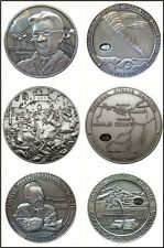 Canyon Diablo / Holbrook / Sikhote-Alin Meteorite Coin Set - Number Matched #004