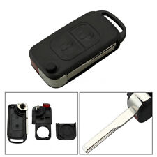 1x A C E S W168 W202 W203 2 Button Flip Remote Key Shell Case For Mercedes Benz