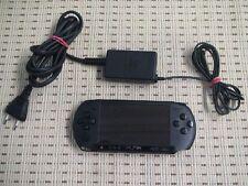 Sony PSP Street E1004 schwarz incl. Ladekabel *TOP Zustand* E1000